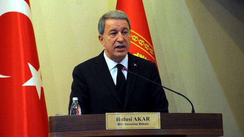 Bakan Akar: Güvenli bölgede sadece Türkiye olmalı
