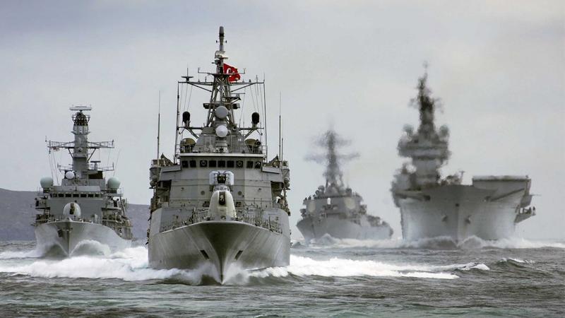 Büyük gövde gösterisi: TSK'dan 3 denizde birden dev 'Mavi Vatan' tatbikatı