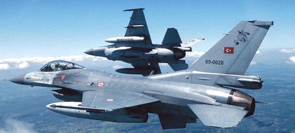 TSK'dan Irak'ın kuzeyinde hava harekatı