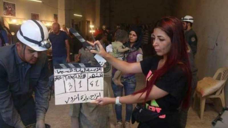 Doğu Guta'da 'Beyaz Kasklılara' ait film stüdyosu bulundu