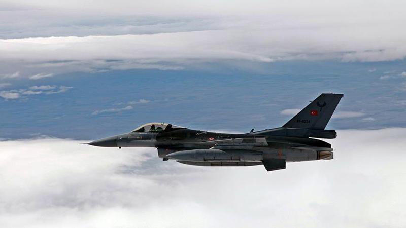 Irak'ın kuzeyine hava harekatı: 15 terörist öldürüldü