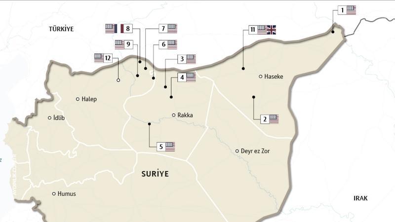 Suriye'deki ABD üsleri
