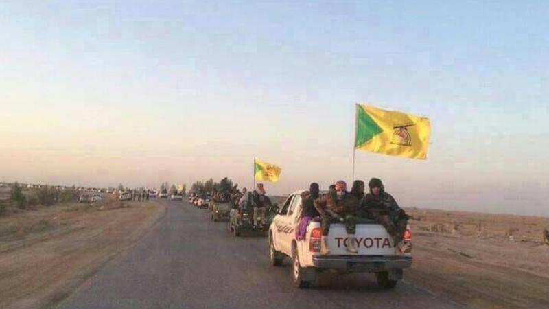 Haşdi Şabi Türkmenlere destek olmak için Kerkük'e girdi