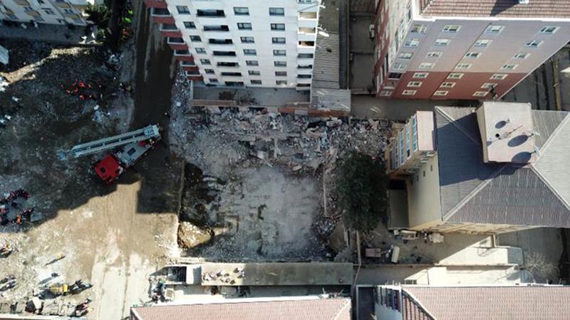 Kartal'da çöken binayla ilgili 2 kişi tutuklandı