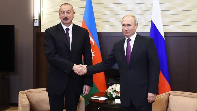 Putin ile Aliyev'den Dağlık Karabağ mesajı!
