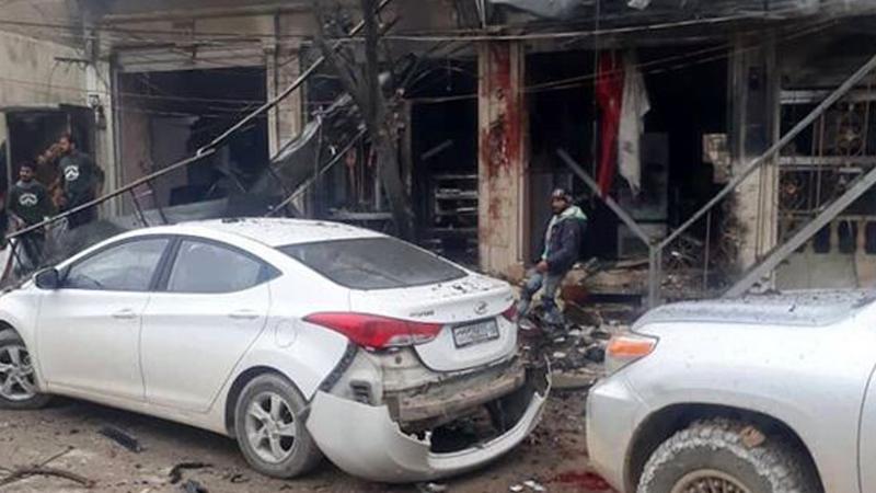 Münbiç'te patlama: 4 ABD askeri öldü