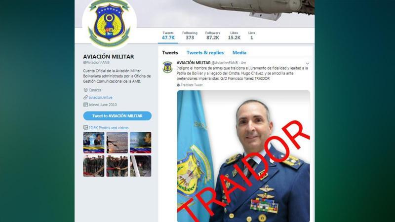 Komutanlık, korsan başkanı tanıdığını duyuran generali 'hain' ilan etti