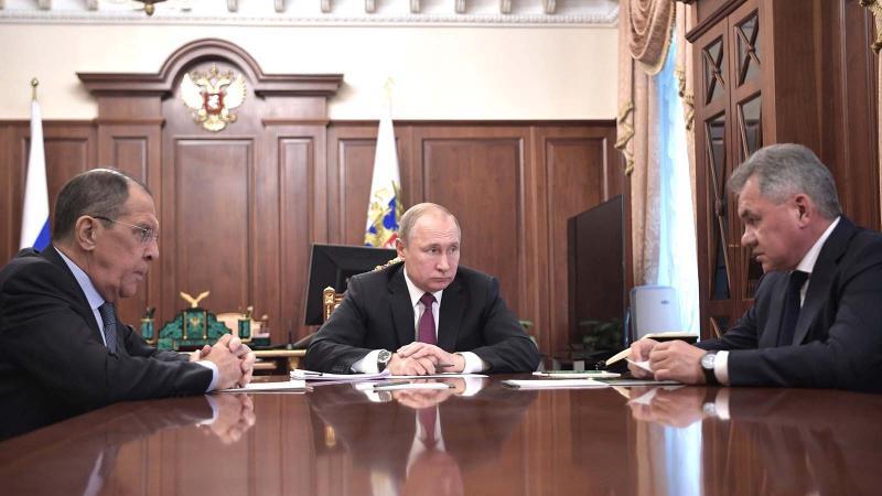 ABD'nin çekildiği INF anlaşmasını Rusya da askıya aldı!