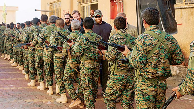 ABD'nin terör ordusunun PYD'li ilk mezunları