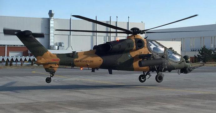 Atak helikopter Uzak Doğu yolunda