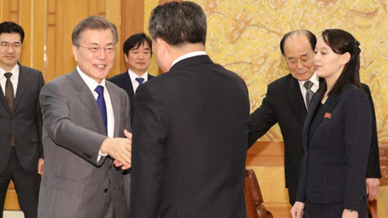 Kore Yarımadası'nda tarihi günler: Kim, Güney Kore liderini ülkesine davet etti