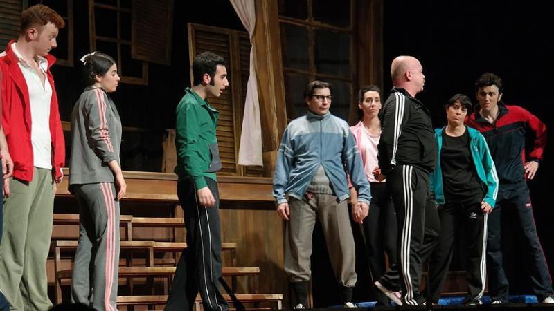 'Hababam Sınıfı' oyunu tiyatroseverlerle buluştu