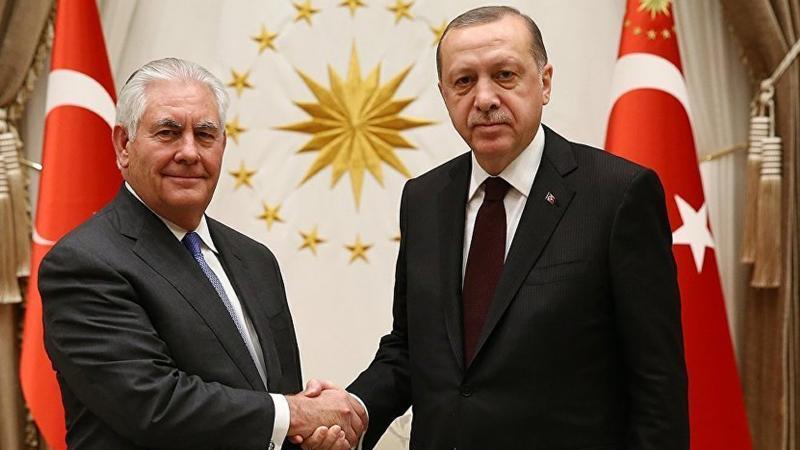 Erdoğan Tillerson görüşmesi sona erdi, karşılıklı ilk açıklamalar