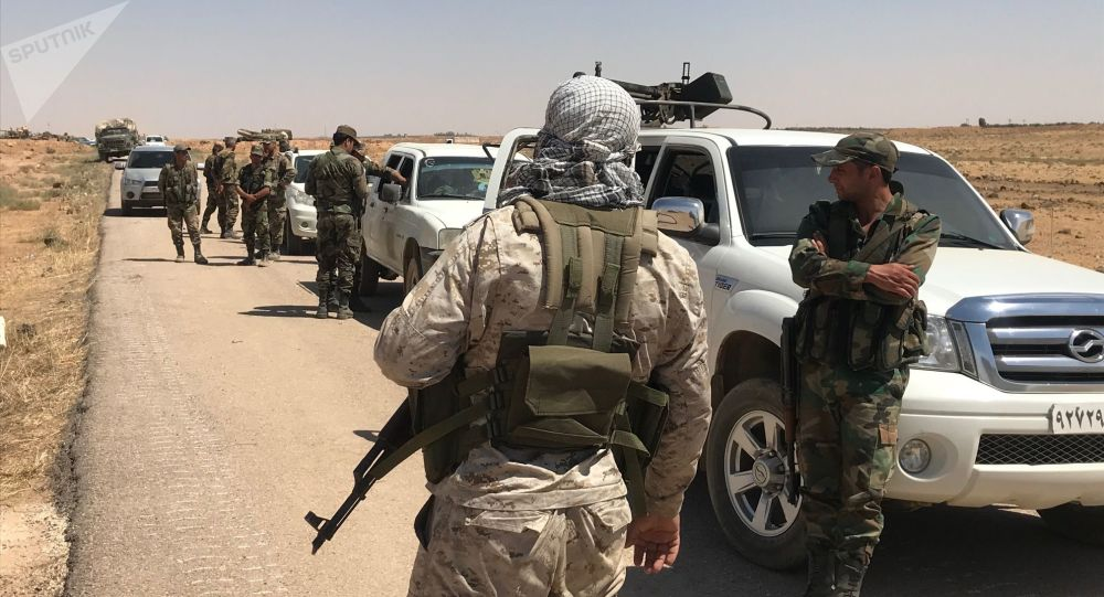 Dera'daki militanların komutanları Suriye ordusuna katılıyor