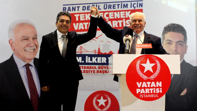 Vatan Partisi'nin İstanbul adayı M. İlker Yücel: Yedi tepeli şehrimize yedi renk vadediyoruz