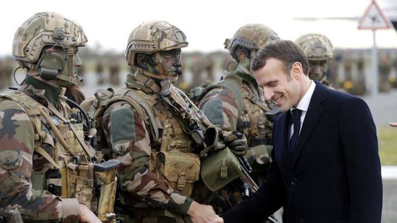 Macron'dan dikkat çeken Münbiç açıklaması