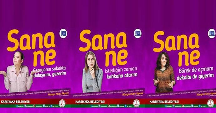 Erdoğan'ın afiş eleştirisine, başkandan sosyal medyadan yanıt