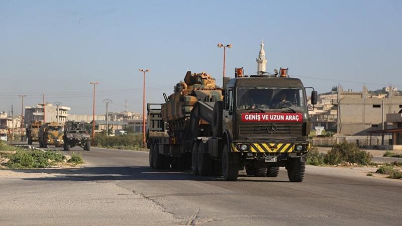 TSK İdlib'te 10. gözlem noktasını kuruyor