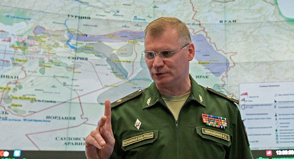 Rusya Savunma Bakanlığı: ABD Suriye'de önemsiz hedefleri vurdu