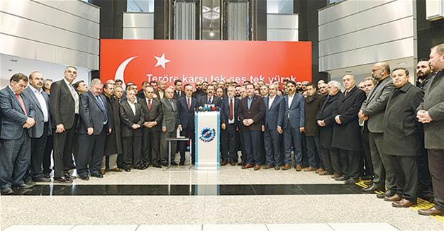 Top business organizations condemn terror attack in Kayseri in joint statement
