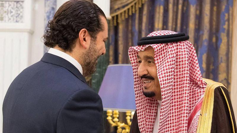 İstifa eden kayıp Başbakan Hariri ortaya çıktı