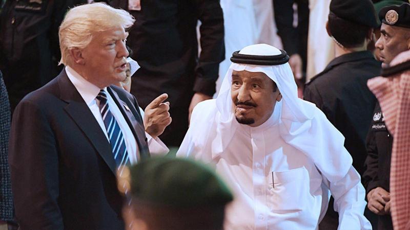 Trump'tan Suudi Kral Selman Bin Abdülaziz'e: Biz olmasak iktidarda 2 hafta kalamazsın!