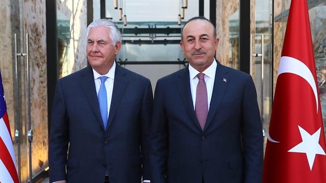Çavuşoğlu ve Tillerson ortak açıklama yaptı: Münbiç'te anlaşma yok!