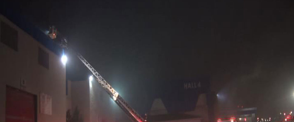 CNR Expo Fuar Merkezi'nde yangın