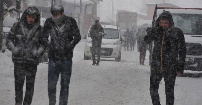 AKOM'dan İstanbul'a kar duyurusu