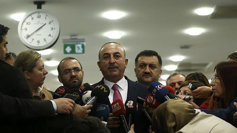 Çavuşoğlu: YPG çekilmezse vuracağız