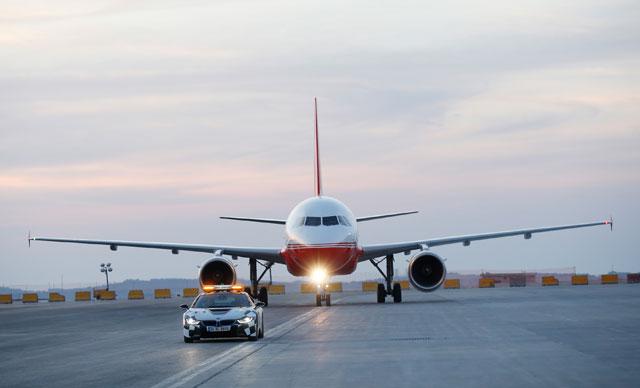 Cumhurbaşkanı Erdoğan'ın uçağı 3'üncü Havalimanına indi