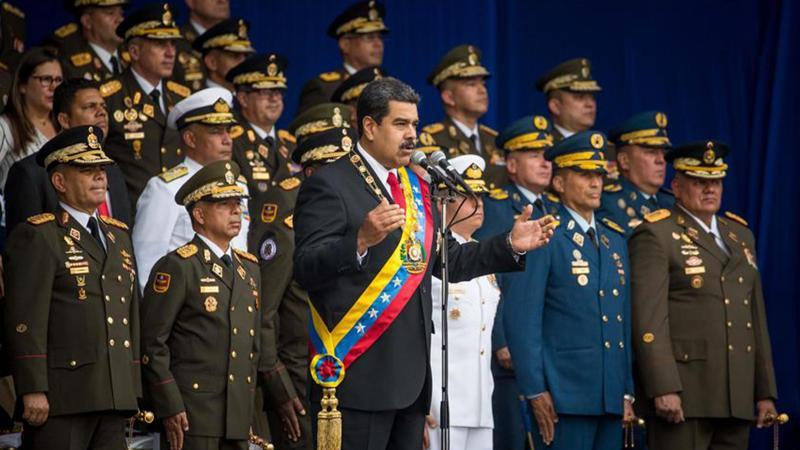 ABD'nin hedefindeki Venezuela lideri Maduro'ya suikast girişimi