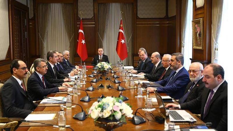 Güvenlik Değerlendirme Toplantısı sonrası açıklama: Operasyonun hedefi terör örgütleri