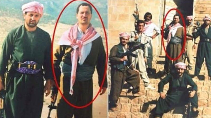 Afrin komutanı Temel Paşa'nın Kuzey Irak'taki resimleri ortaya çıktı