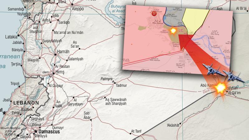 Suriye IŞİD'i, ABD Suriye'yi vurdu