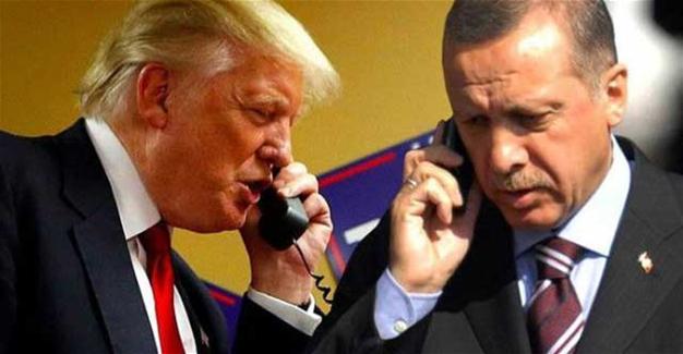 Erdoğan Trump ile görüştü