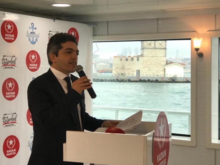 Vatan Partisi İstanbul adayı Yücel, 'Mavi İstanbul Projesi'ni açıkladı