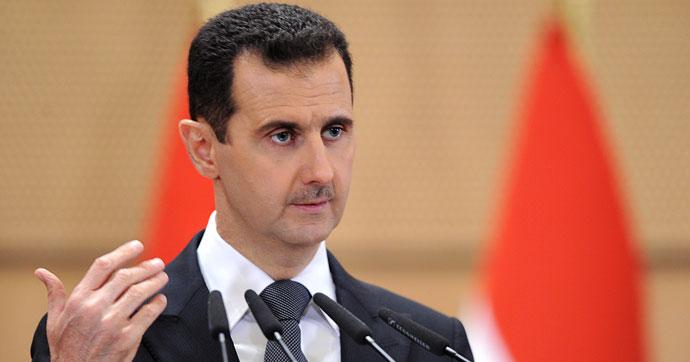 Beşar Esad: Suriye'nin yeniden inşasında öncelik Rus şirketlerinin olacak