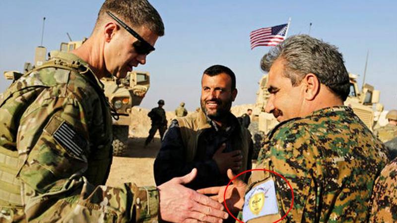 Münbiç geriliminin gölgesinde ABD'den terör örgütü YPG'ye skandal destek