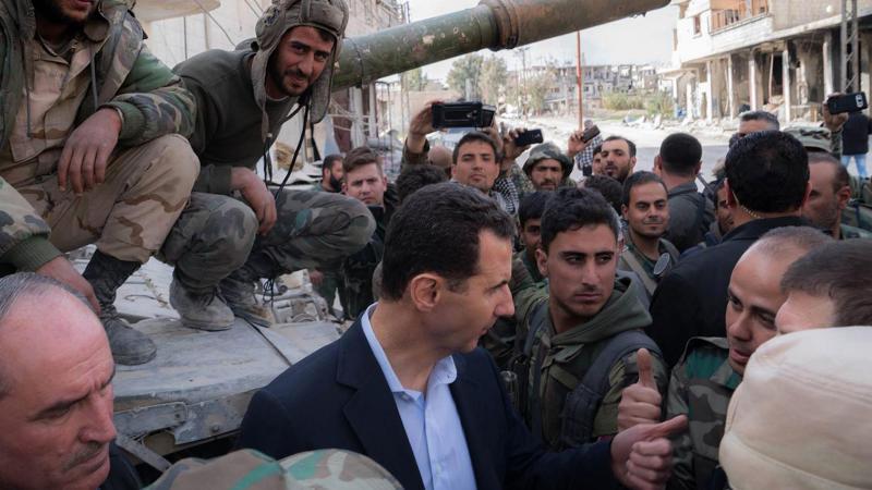 Suriye Cumhurbaşkanı Esad: Kontrolü kaybettiler!