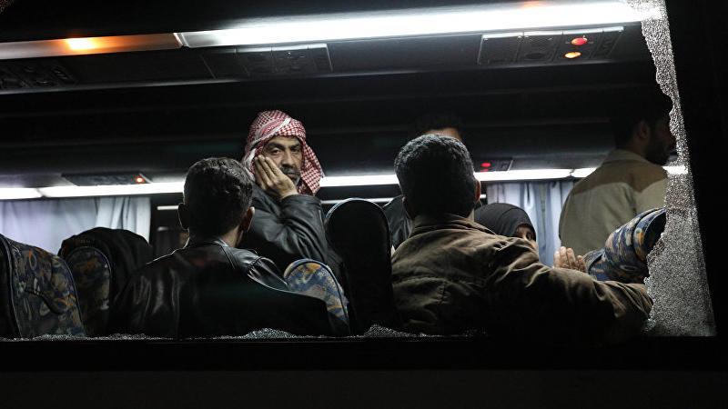 'Son teröristler Duma'dan böyle ayrıldı'