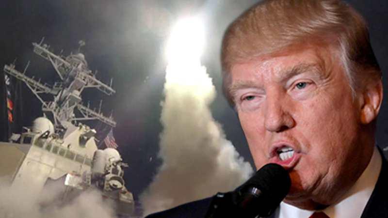 Trump: Bize yönelebilecek her füzeyi indireceğiz