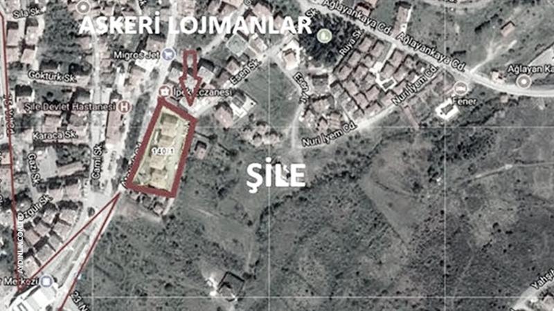 Şile'de askeri alanlar konut alanına çevriliyor