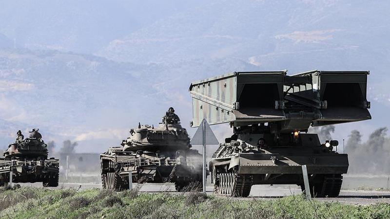 TSK Afrin'de PKK'nın hendeklerini böyle geçecek