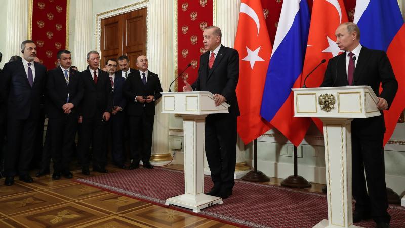 Erdoğan-Putin görüşmesi başladı: YPG temizlenmeden toprak bütünlüğü sağlanamaz!