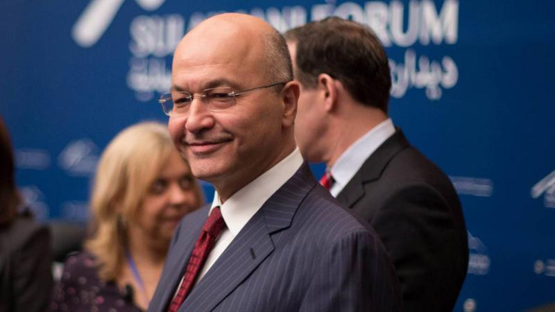 Irak'ın yeni Cumhurbaşkanı Barham Salih oldu