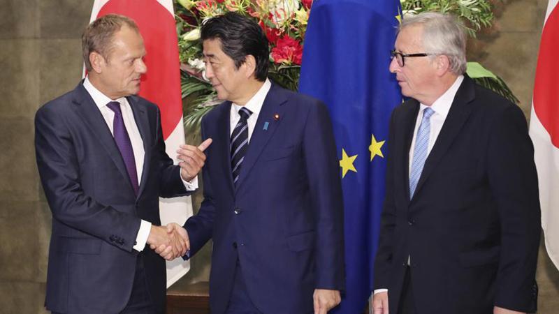 AB ve Japonya arasında 'tarihteki en büyük' serbest ticaret anlaşması