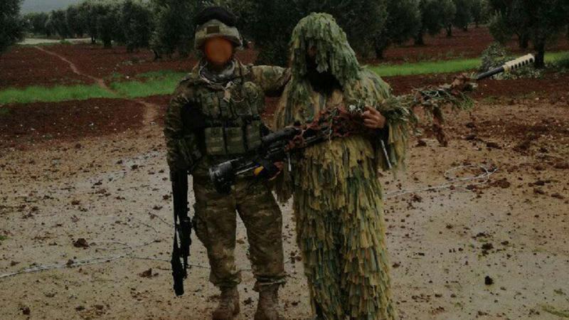 PKK/YPG Afrin'de kendi silahıyla vuruluyor