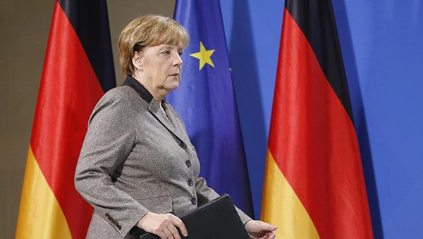 Merkel, 'Teşekkürler Şef' pankartları arasında veda etti