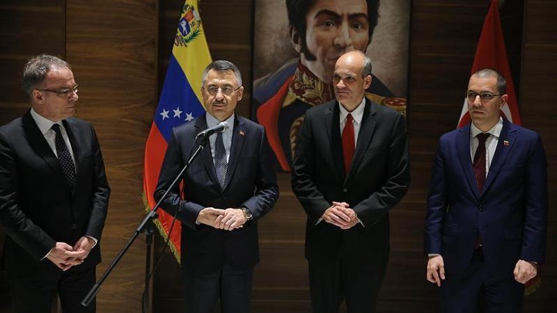 Cumhurbaşkanı Yardımcısı Oktay'dan iş insanlarına Venezuela ve Latin Amerika çağrısı